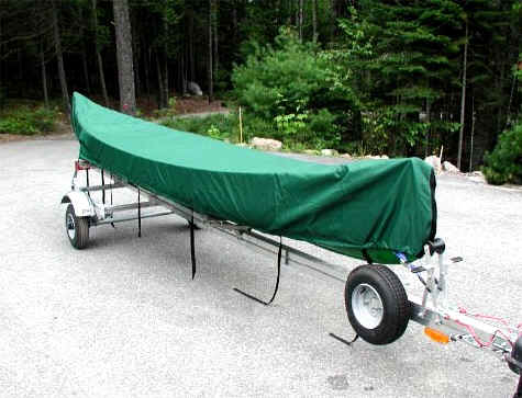 SUT-350-S Trailer with 18' Canoe