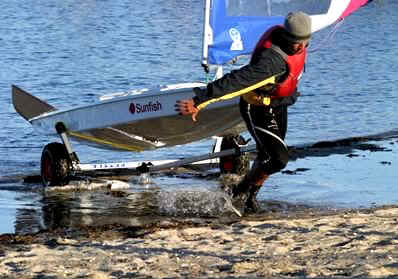Seitech Launching Dolly for Sunfish