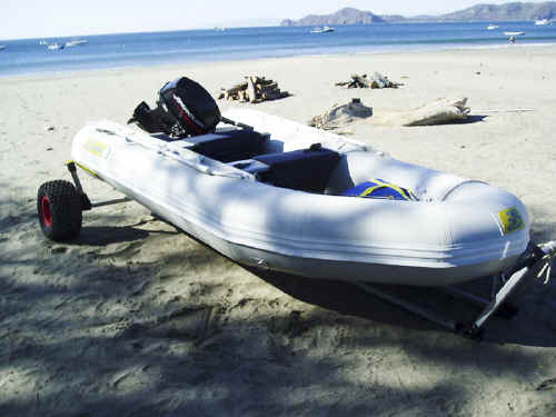 Seitech Dolly for Zodiac Style Inflatable Boats