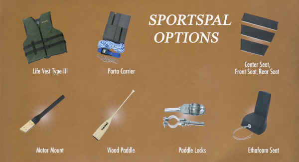 Sportspal Canoe Accessories
