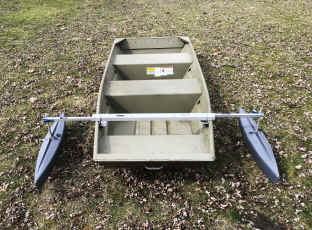 Outrigger Stabilizer Float for Jon Boat