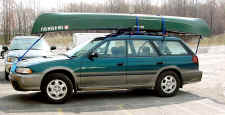Canoe on Car