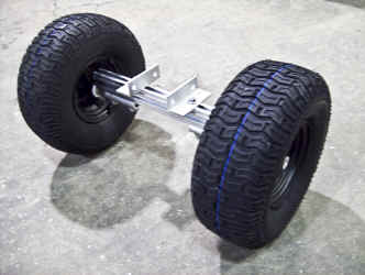 Nose Wheel Option for Trailex Dolly