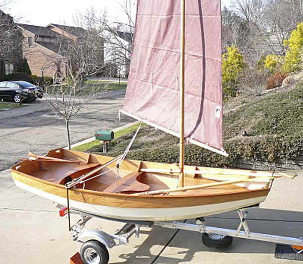CLC  Passagemaker Dinghy on Trailex SUT-250-S Trailer