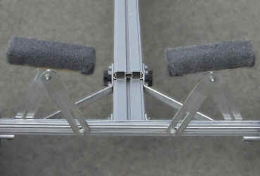 Trailex Universal Launching Dolly Cradle Bunk Details