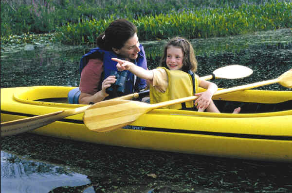 Walden Spirit Kayak Family Fun